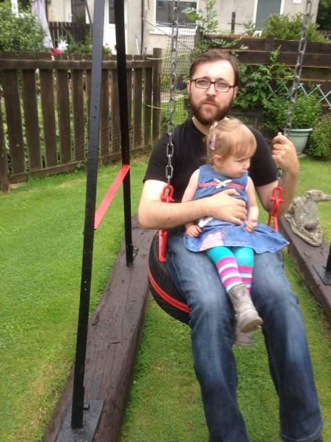 Ewan and Daughter